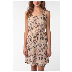 Urban Outfitters Floral chiffon dress NWT